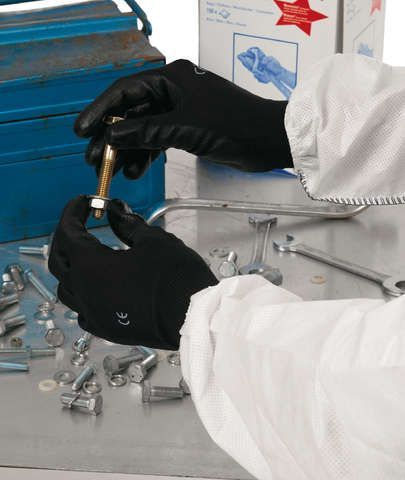 flickzeug & reparatur: Kimberly Clark  Arbeitshandschuh Kleenguard Gr. 8 8