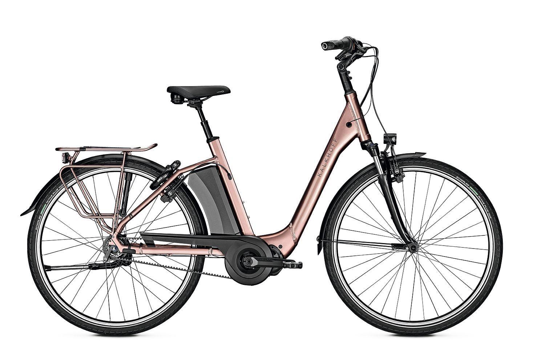 E-Bikes/Citybikes: Kalkhoff  AGATTU 3.S EXCITE (621 Wh) 8 Gang Damenfahrrad Tiefeinsteiger Modell 2020 28 Zoll 60 cm