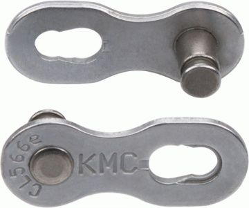 ketten/Kette: KMC  Kettenschloss MissingLink 9NR EPT Silver