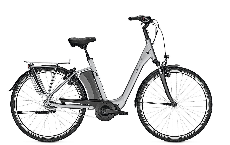 E-Bikes/Citybikes: Kalkhoff  AGATTU 3.S MOVE RT (621 Wh) 7 Gang Damenfahrrad Tiefeinsteiger Modell 2020 28 Zoll 60 cm
