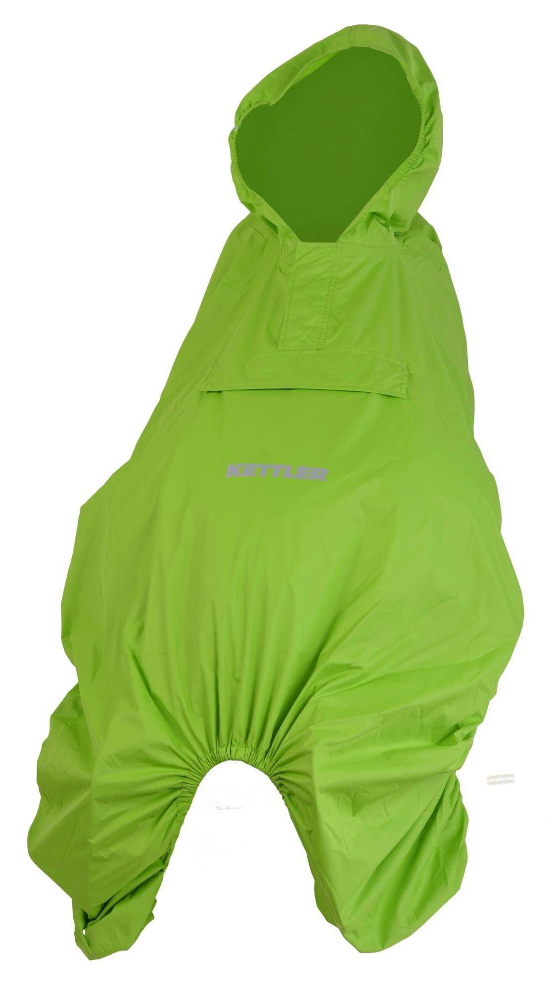 Kettler Regenschutz f. Kindersitze mit Kind