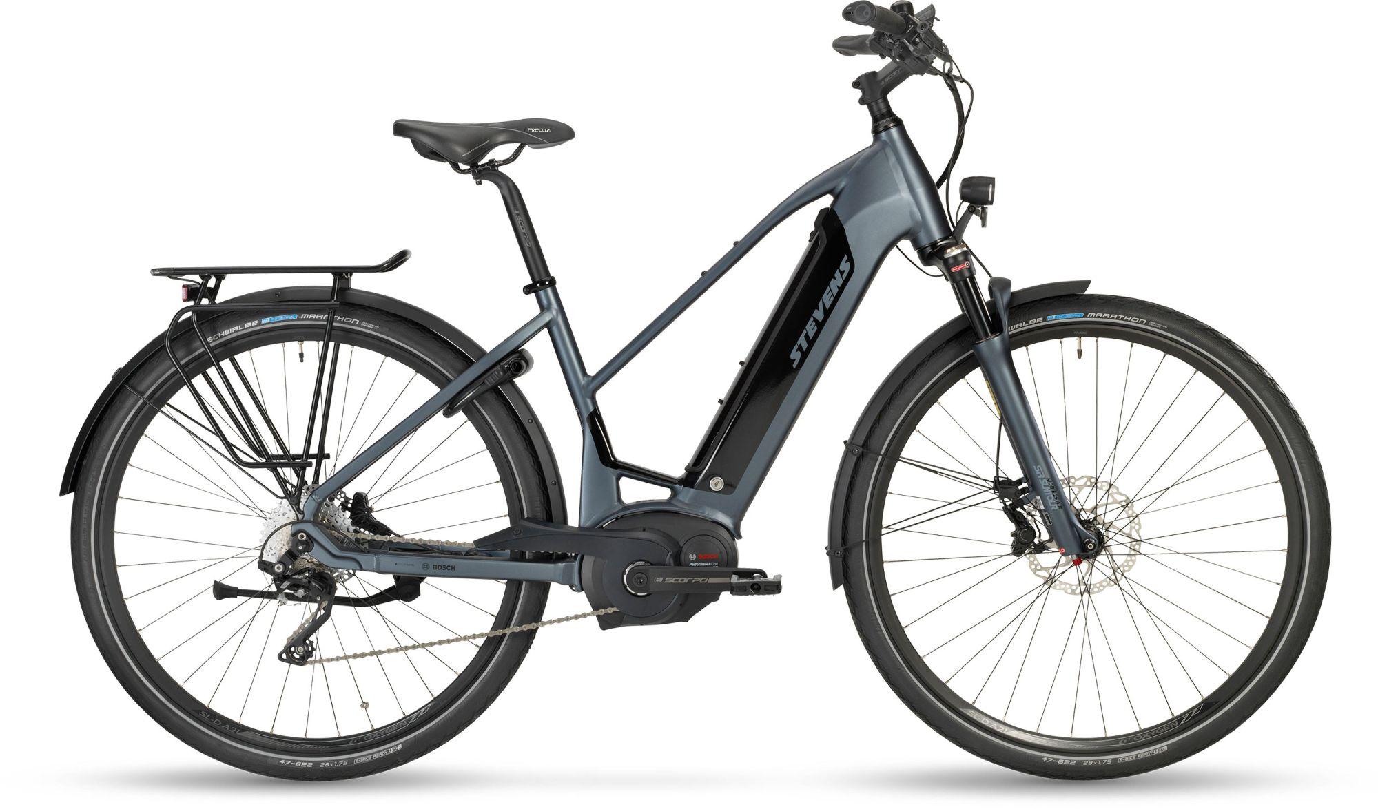 E-Bikes: STEVENS  E-TRITON PT5 Damenfahrrad Trapez Modell 2019 28 Zoll 50 cm