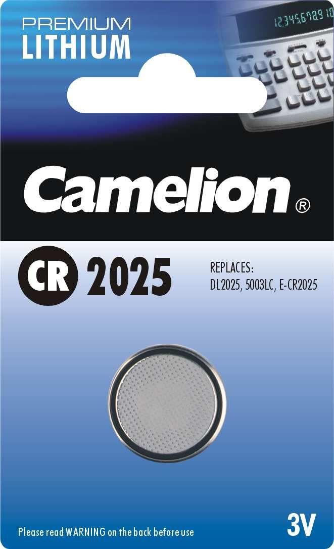 zubehör computer & pulsuhren: Camelion  Knopfzelle CR 2025 1Stück