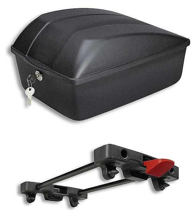 koffer/Koffer & Körbe: KLICKfix  Hartbox 12 Liter 25x35x18 Bike Box für Racktime