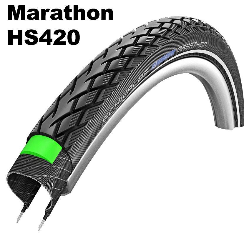 "Schwalbe Performance Line - GreenGuard,28"" Marathon 40-635"