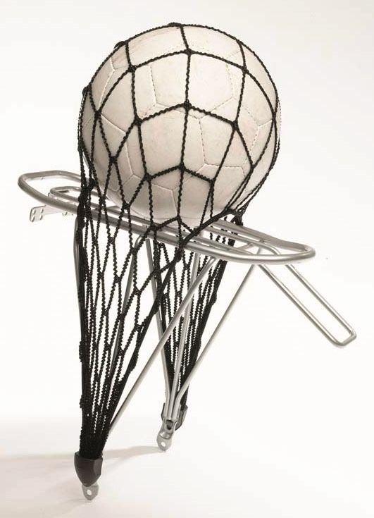 Fahrradteile/Gepäckträger: Belico  Ballnetz für Gepäckträger