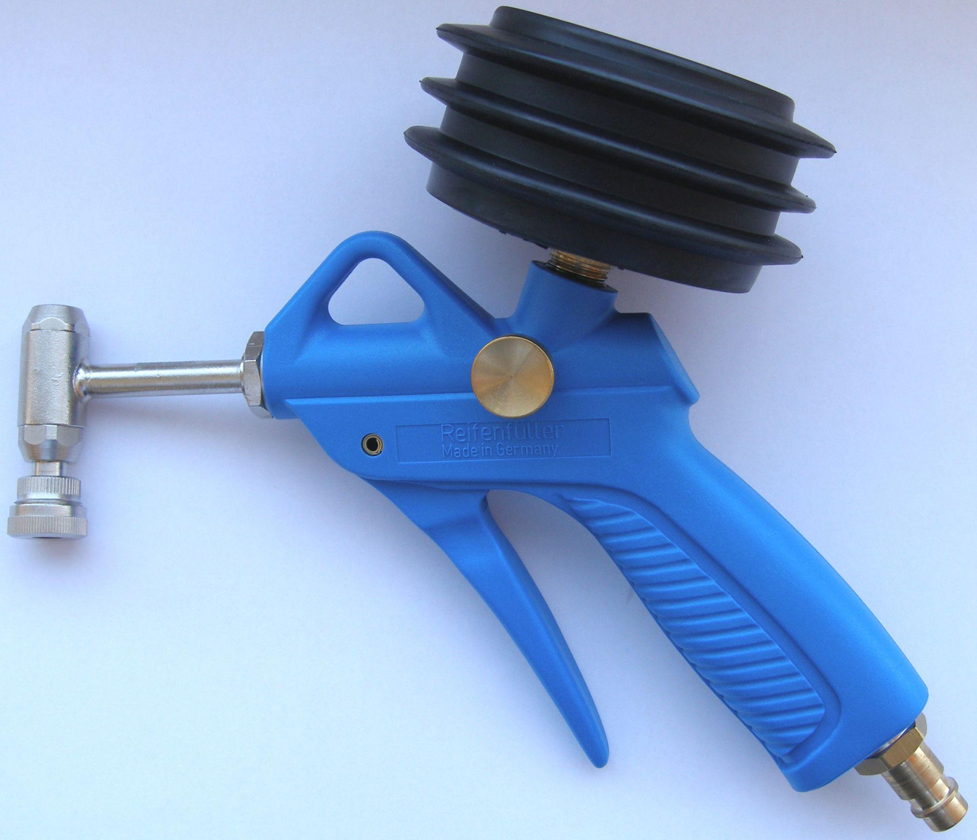 pumpenzubehör/Pumpen: Alligator -Fahrrad-Reifenfüller (drehbar)