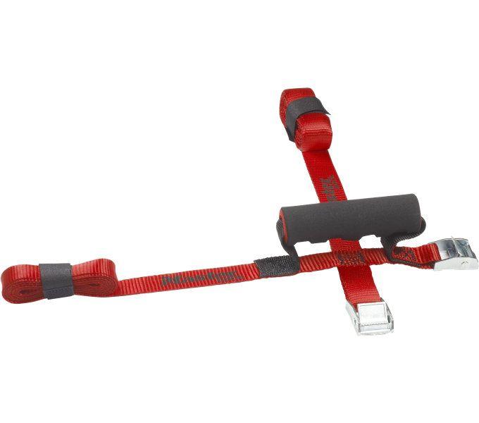 Fahrradteile/Gepäckträger: Master Lock  Tragegurt mit Griff gekreuzt 3124 250 m Rot