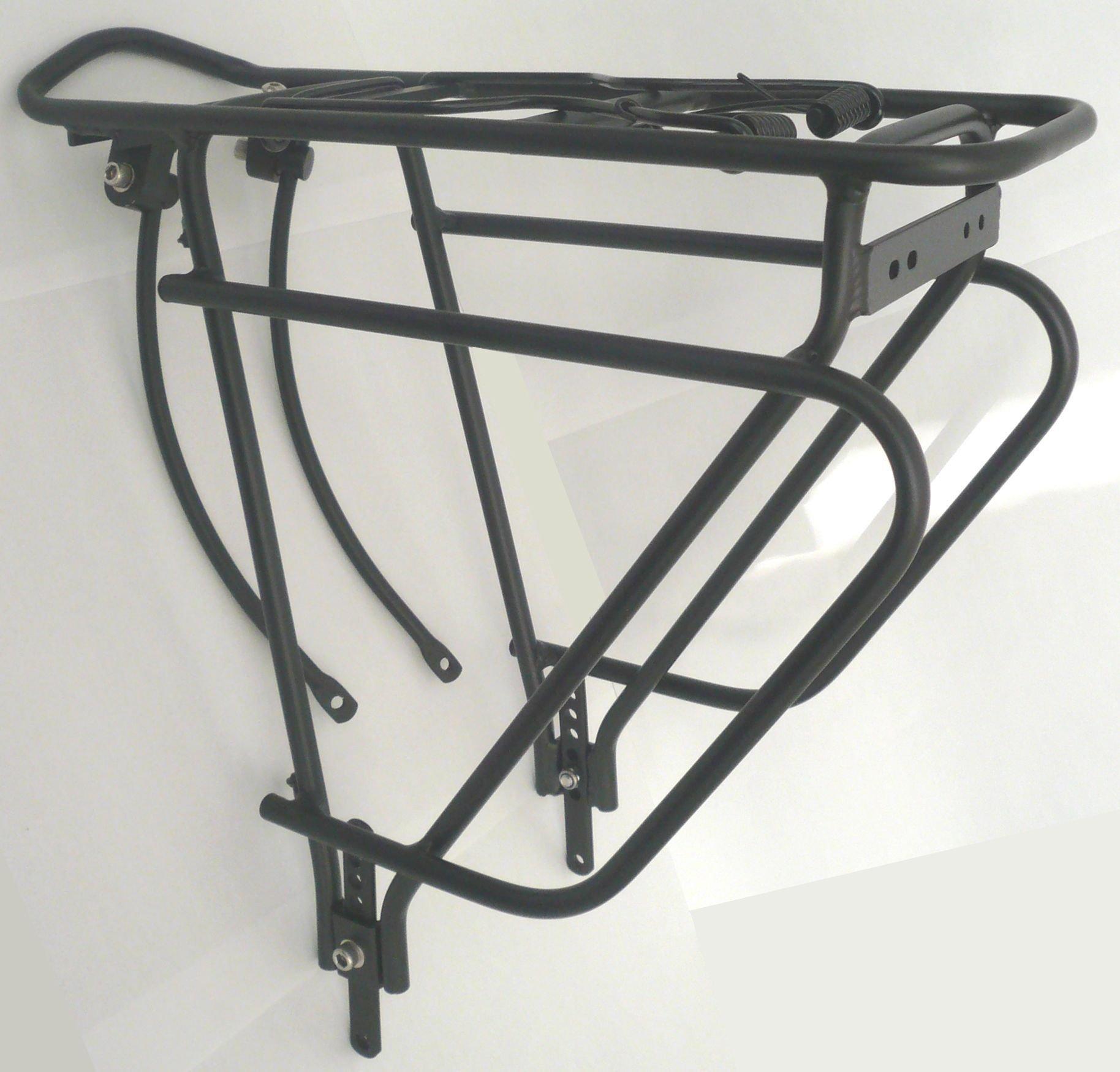 Standwell HR-Gepäckträger 28 Zoll, schwarz-matt