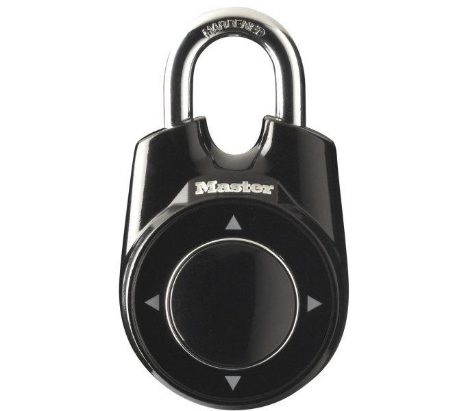 bügelschlösser/Schlösser: Master Lock  Vorhängeschloss ONE 7 mm x 27 mm x 19 mm Schwarz
