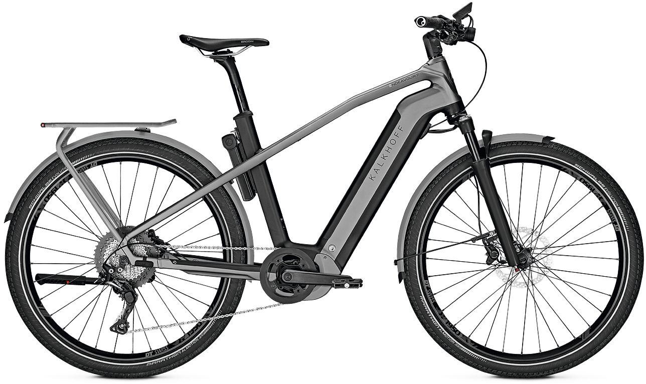 E-Bikes: Kalkhoff  ENDEAVOUR 7.B EXCITE (625 Wh) 12 Gang Herrenfahrrad Diamant Modell 2020 275 Zoll 58 cm