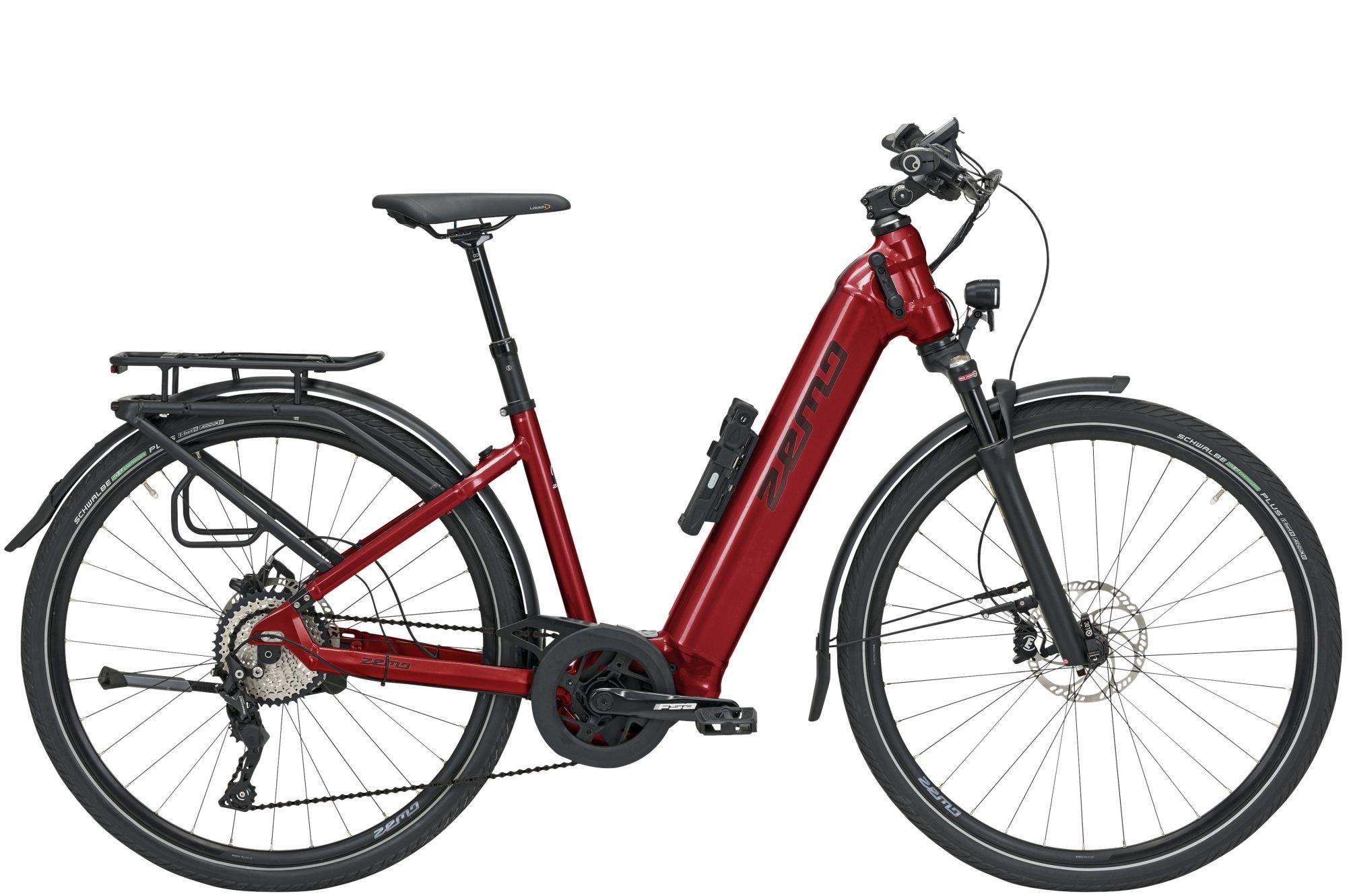 E-Bikes: ZEMO  ZE 10 (625 Wh) 10 Gang Kettenschaltung Damenfahrrad Wave Modell 2021 28 Zoll 48 cm