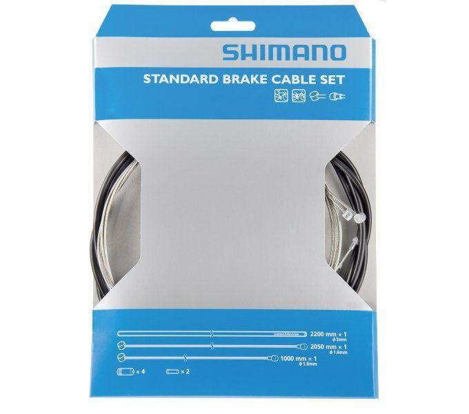 felgenbremsen zubehör/Bremsen: Shimano  Bremszug-Set Y80098022 1600 mm