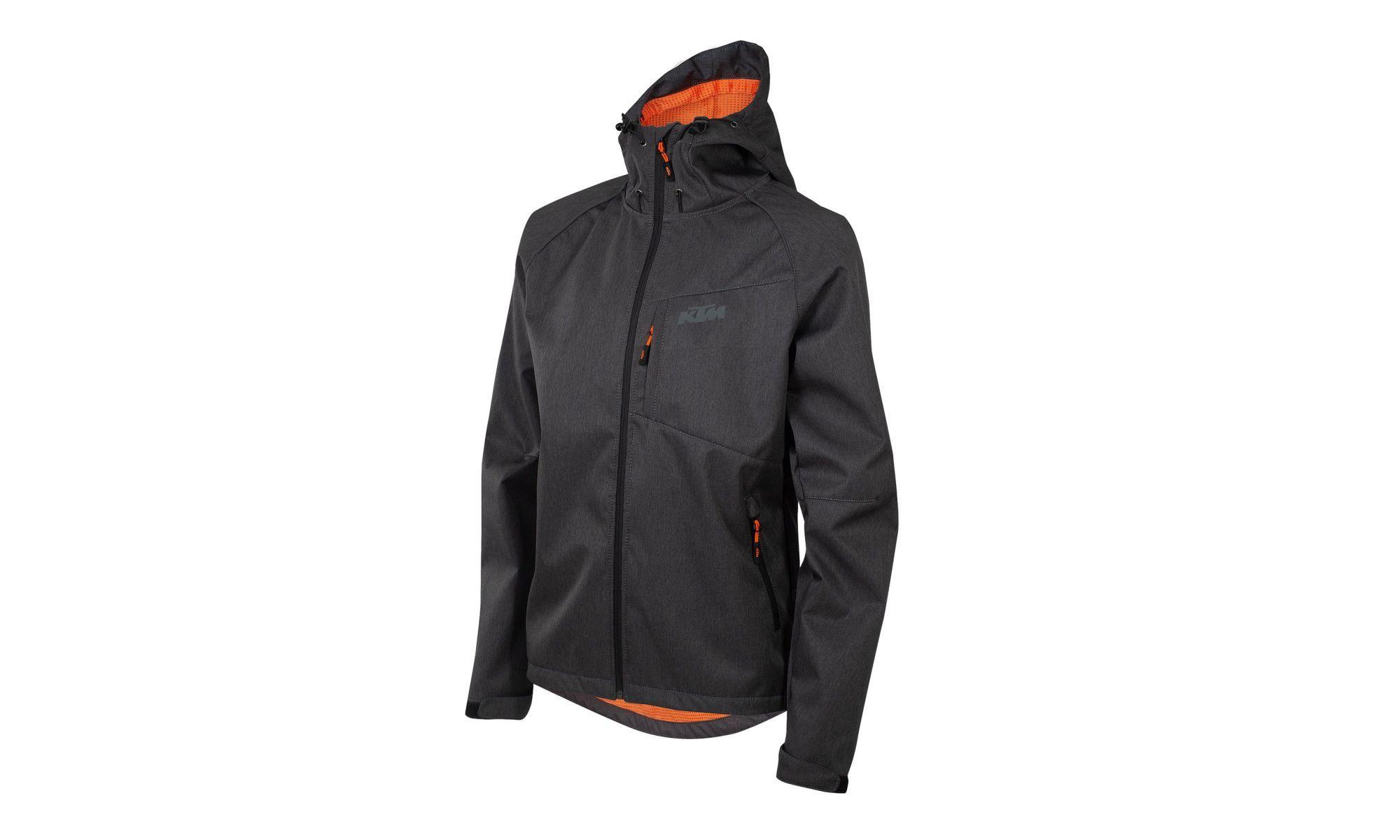 KTM Atmungsaktive Radsportjacke Factory Team Softshell Jacket