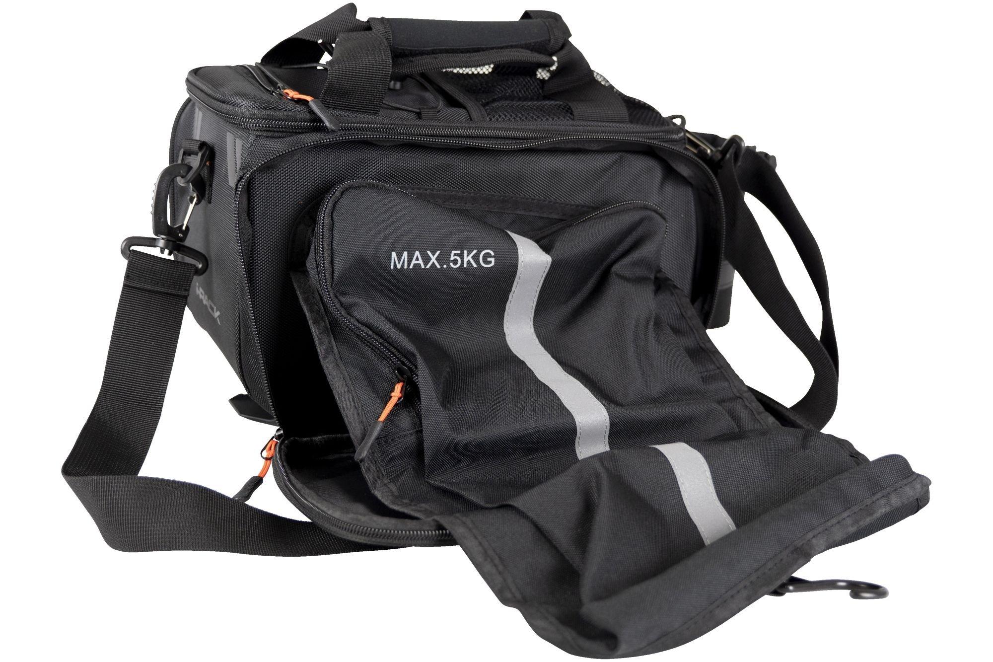 Northwind Gepäckträgertasche Smartbag Touring i-Rack II (schwarz/orange)