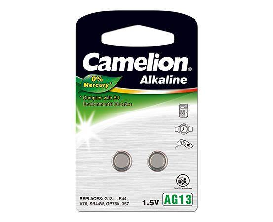 zubehör computer & pulsuhren: Camelion  0%HG Knopfzelle AG13LR44 2-er