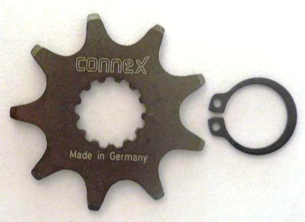zubehör (kettengarnitur)/Schaltung: Connex ConneX Motorritzel 9 Z f. Panasonic