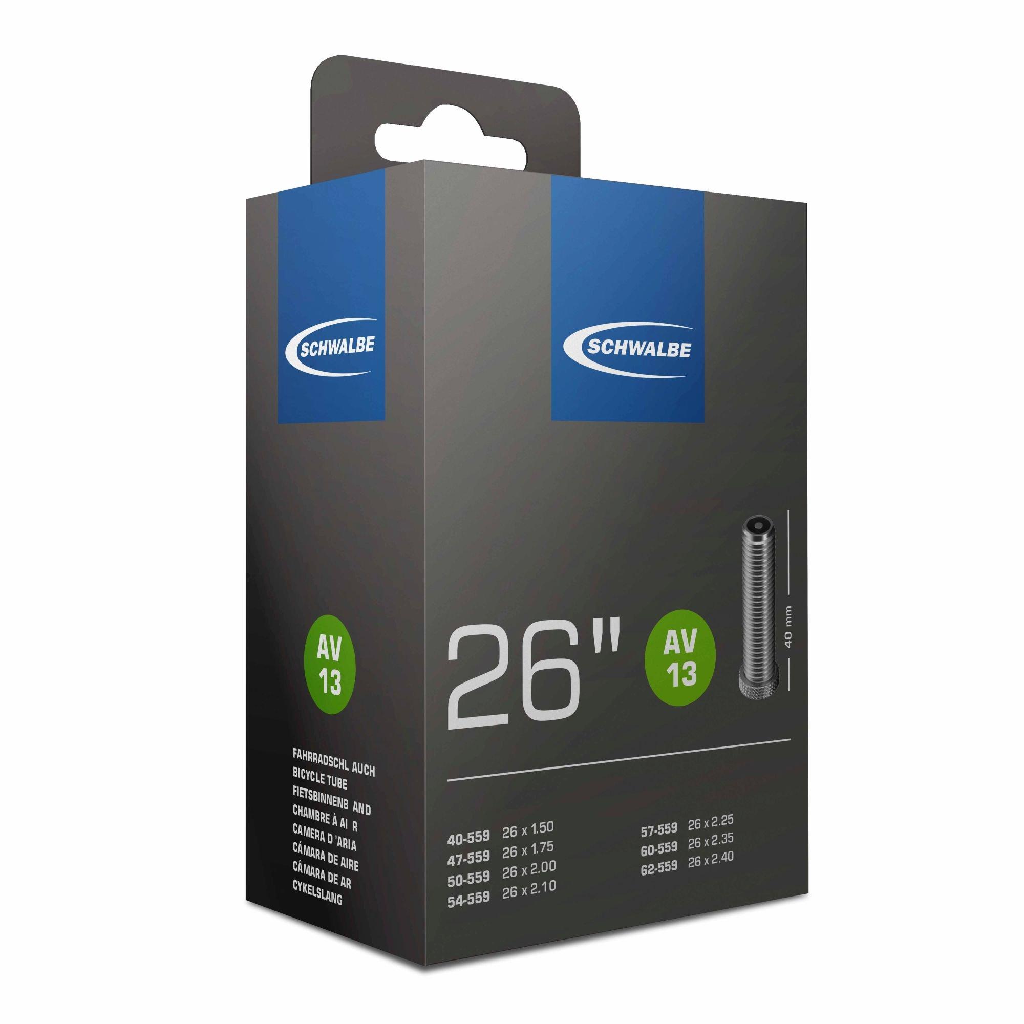 schläuche/Bereifung: Schwalbe  Fahrradschlauch AV 13  40mm