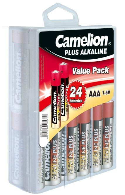 Camelion Plus Alkali Micro 1Box=24St Box = 24 Stück