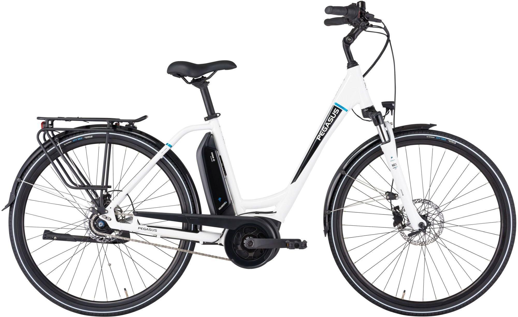 E-Bikes: Pegasus  Ancura E8R Disc (300 Wh) 8 Gang Nabenschaltung Damenfahrrad Wave Modell 2021 28 Zoll 54 cm