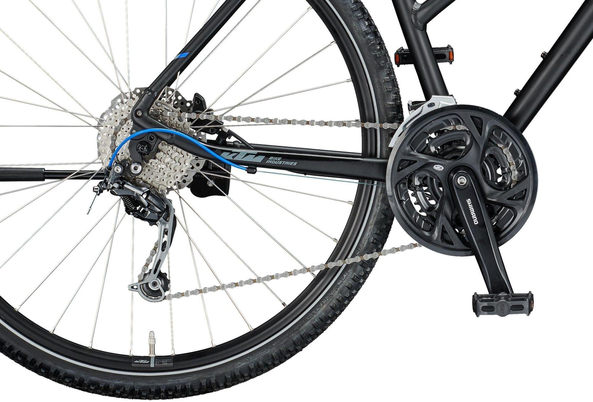 "KTM LIFE ROAD, 27 Gang Kettenschaltung, Damenfahrrad, Trapez, Modell 2020, 28"""