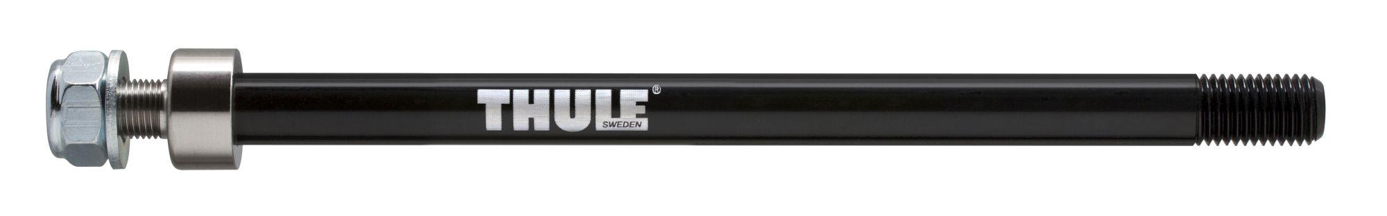 laufräder: Thule  Achsadapter für Hinterachse Thru Axle 162-174 mm (M12X1.0) Black