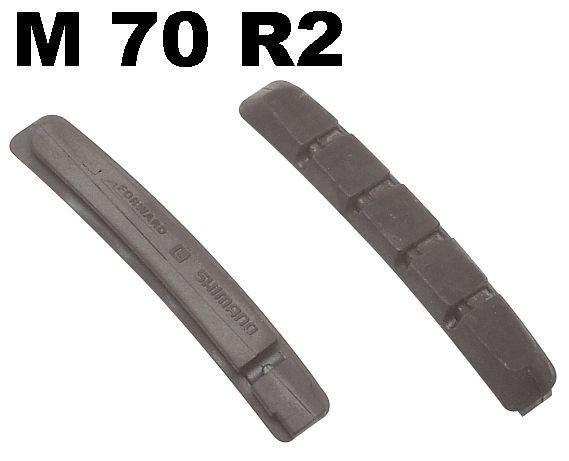 /Bremsen: Shimano  Bremsgummi M 70 R2 für Ceramic Felgen