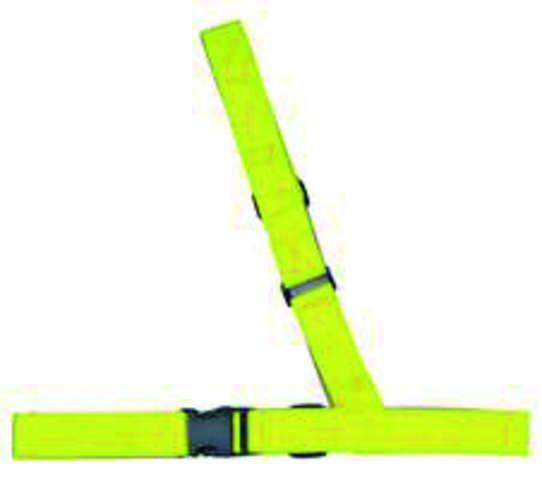 reflektoren/Beleuchtung: Tip Top  Cross Wrap Personenreflekt. Schärpe