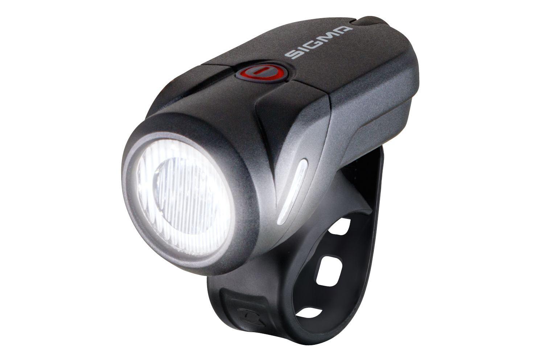 batterielicht vorne/Beleuchtung: Sigma  Batterie-Scheinwerfer Aura 35