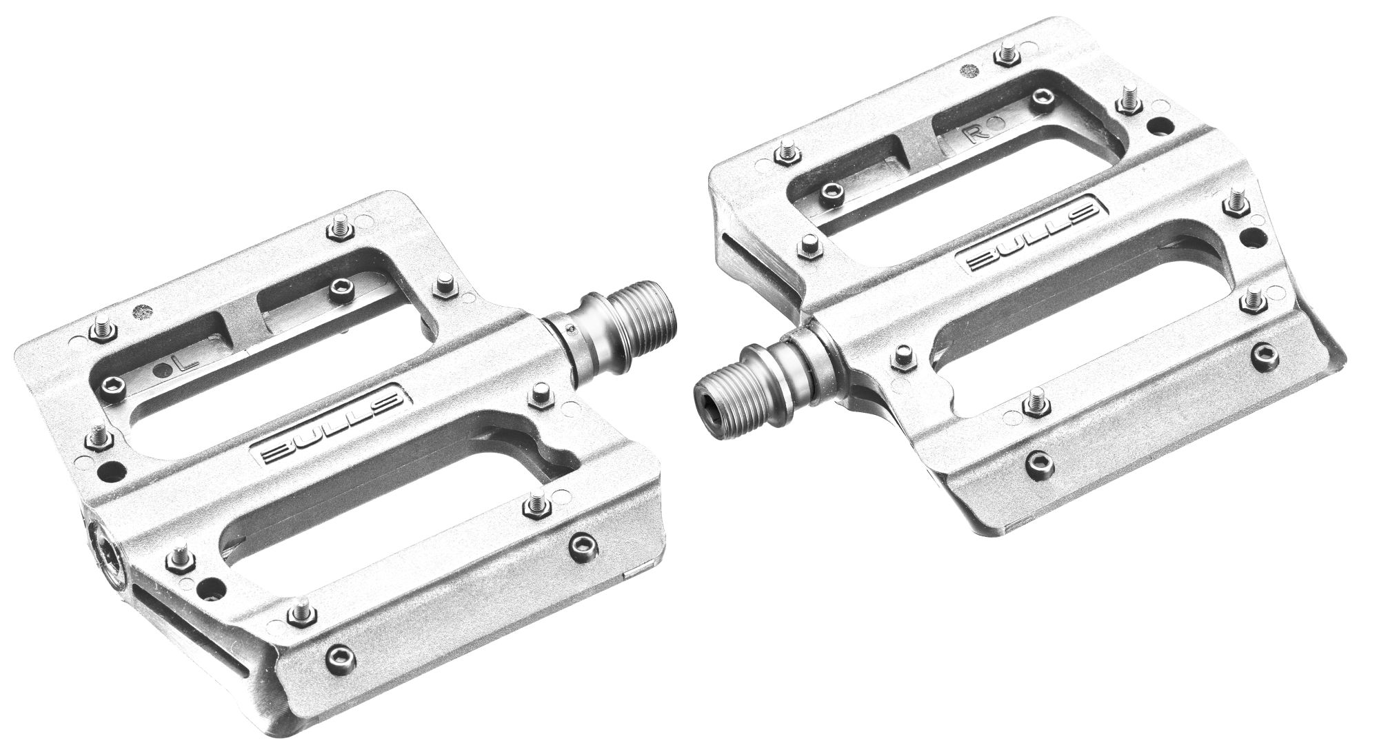 BULLS Plattformpedal Kunststoff white