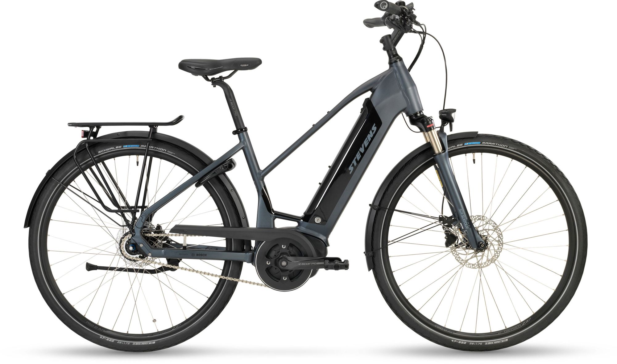 E-Bikes/Citybikes: STEVENS  E-Courier PT5 Damenfahrrad Trapez Modell 2019 28 Zoll 50 cm