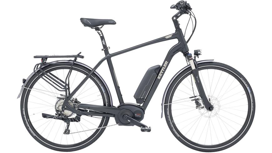 Kettler Alu Rad E Light, 10 Gang Kettenschaltung, Herrenfahrrad, Trekking, Modell 2017, 28 Zoll